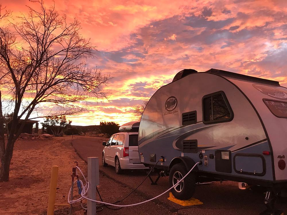 Lyman Lake Campground, AZ