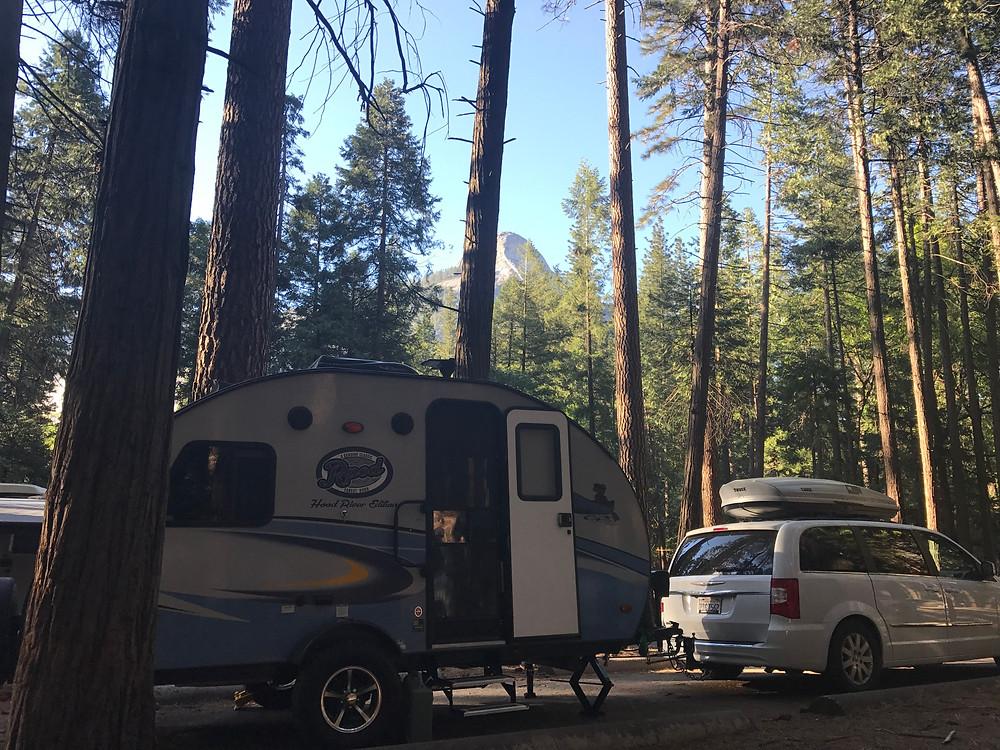 Site 174, Upper Pines Campground, Yosemite National Park