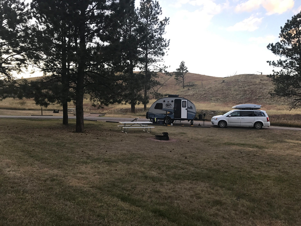 Site B7, Elk Mountain Campground, Wind Cave National Park
