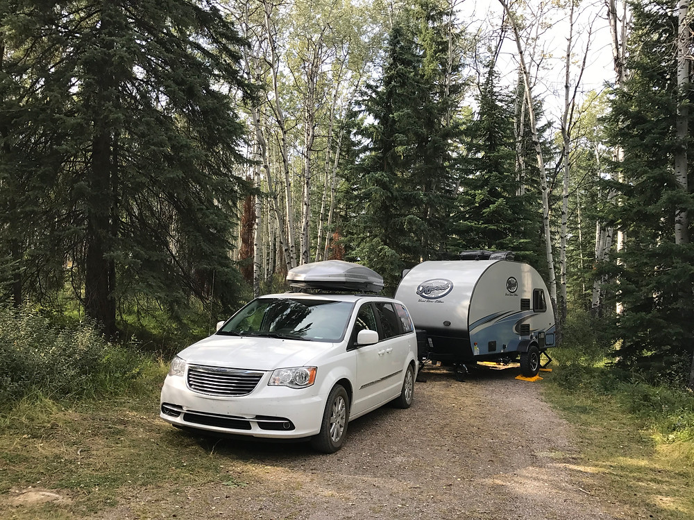 Whistlers Campground in Jasper National Park