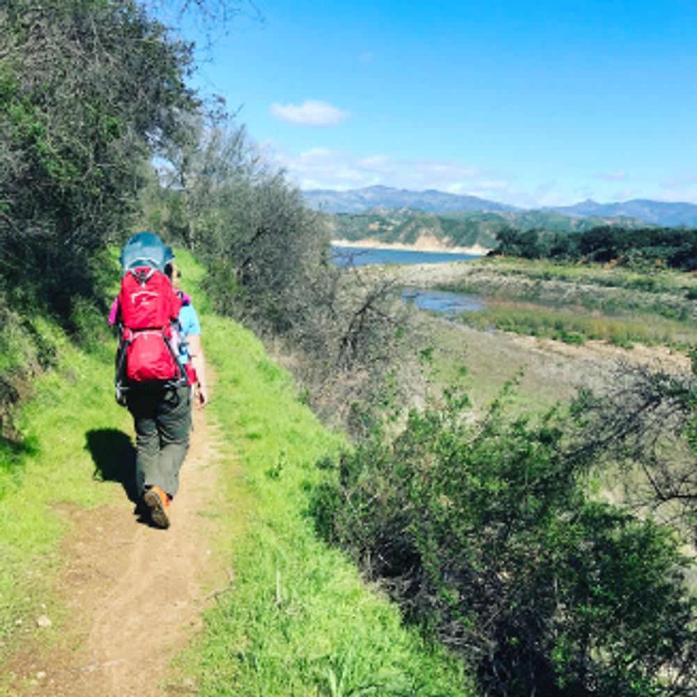 hiking-sweet-water