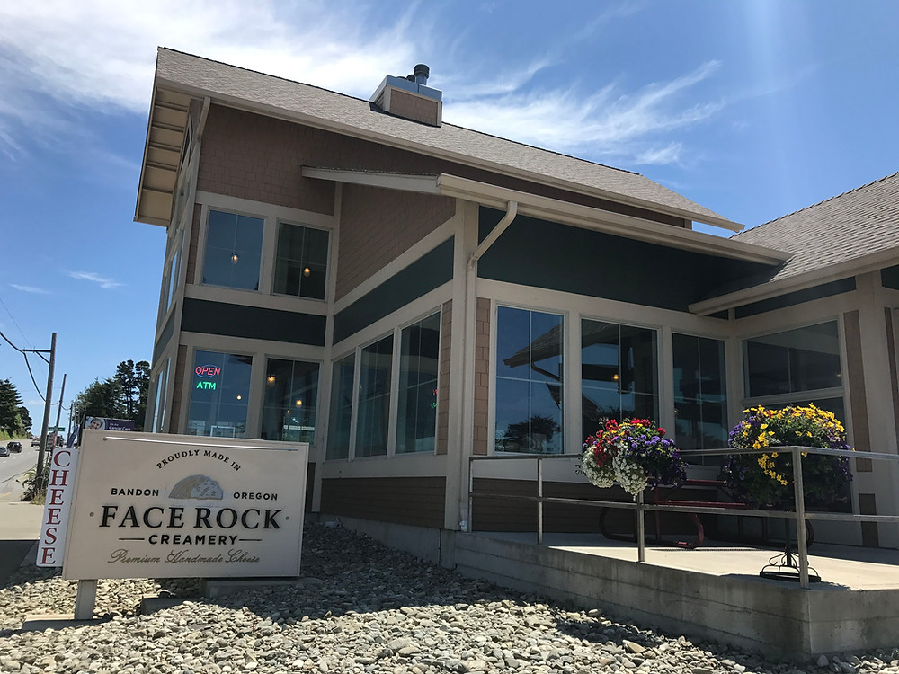 Face Rock Creamery in Bandon, OR
