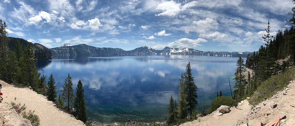 Crater Lake at Crater Lake National Park