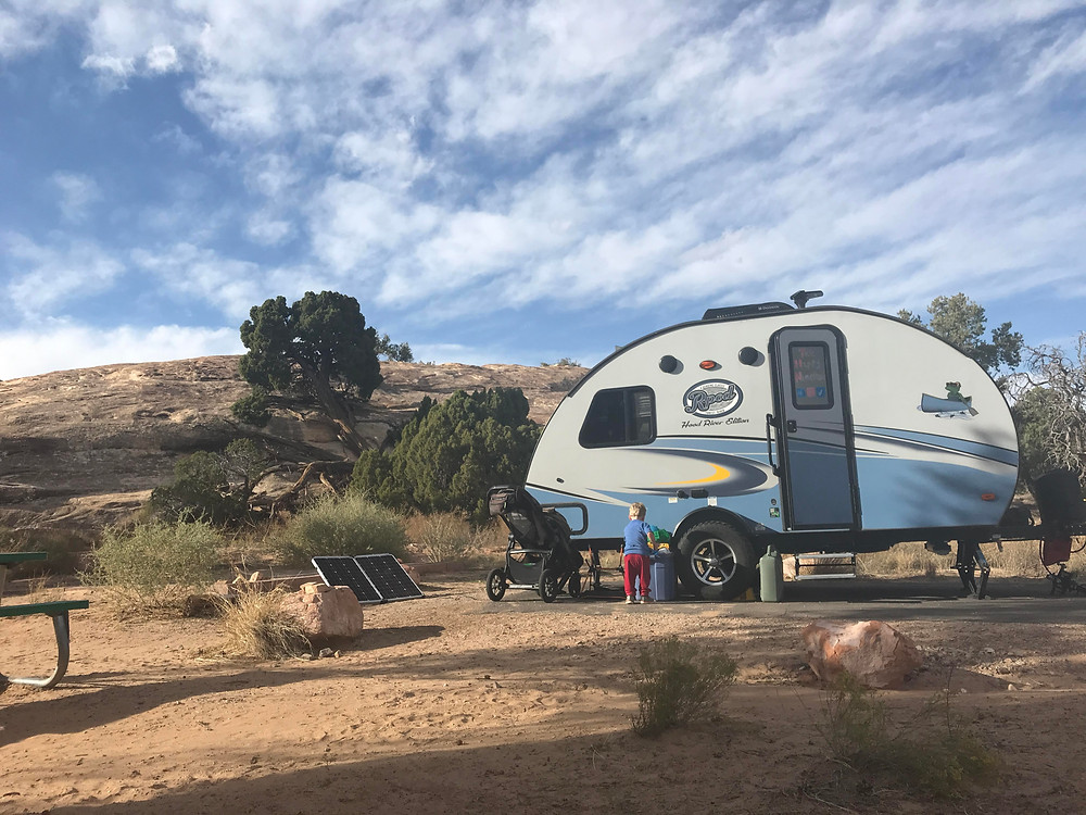 Site 3, Squaw Flat Campground, Canyonlands National Park