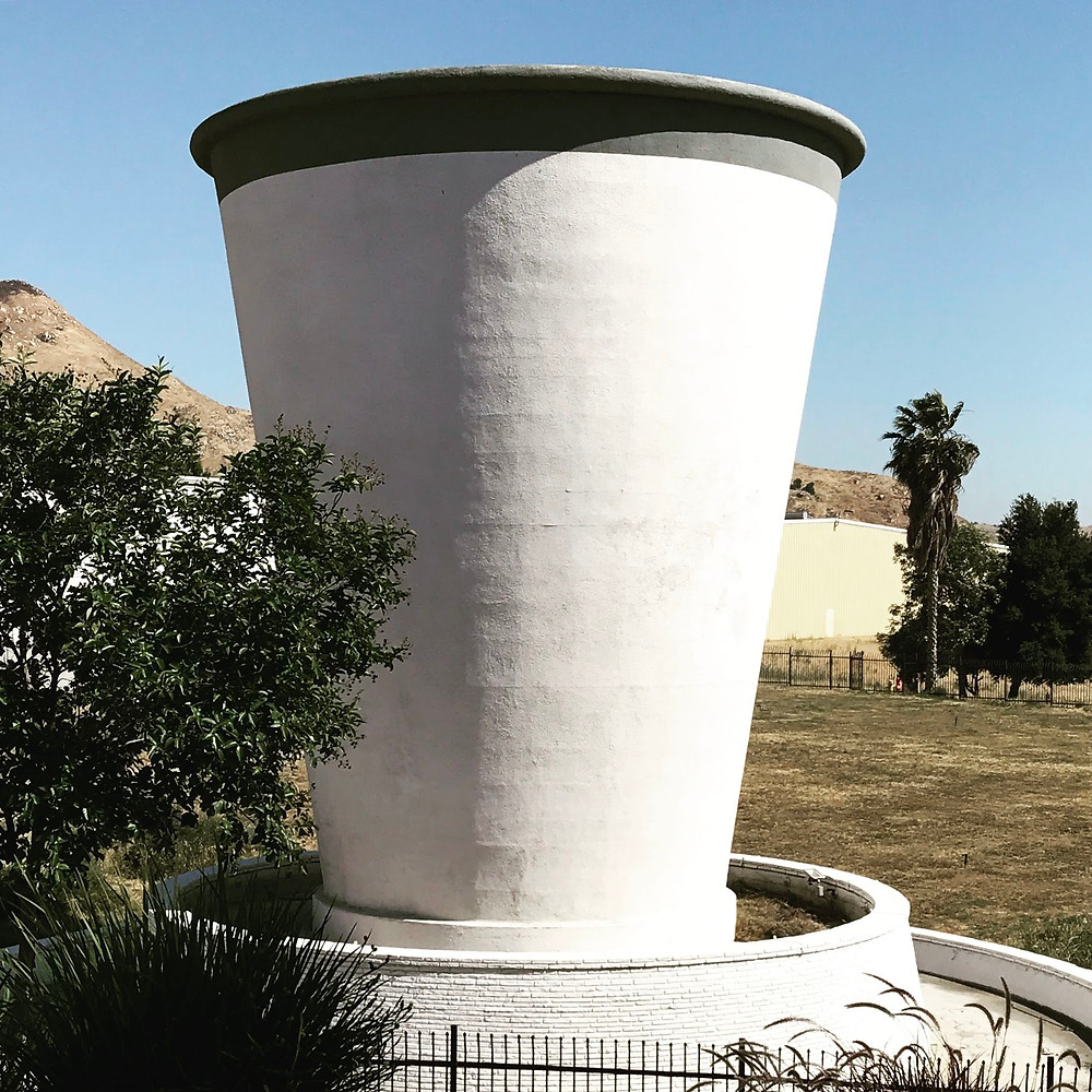 World's largest paper cup in Riverside, CA