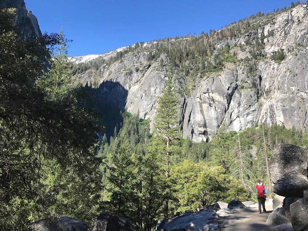 Vernal Falls Trail, Yosemite National Park