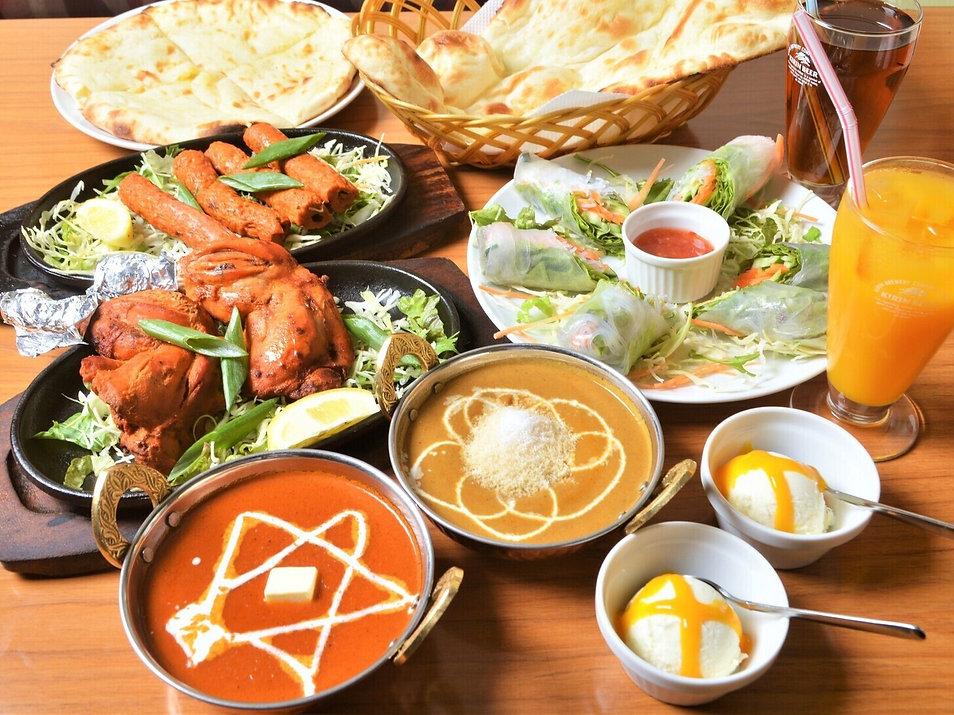 nepal-india cuisine, curry, nan
