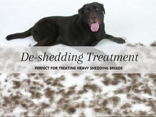 DE-SHEDDING TREATMENT