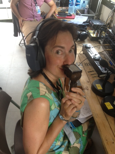 Broadcasting from Cornbury