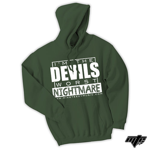 """I'm The Devil's Worst Nightmare"" Hoodie"