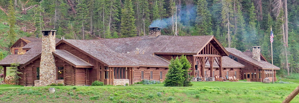 Lodge Building - Tour the Lodge - Brooks Lake Lodge - Yellowstone luxury hotels