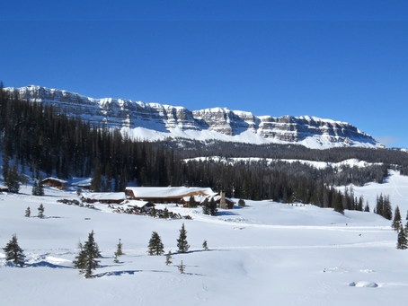 Snowy Solitaire Brooks Lake Lodge Offers Private Cabins, Outdoor Adventures