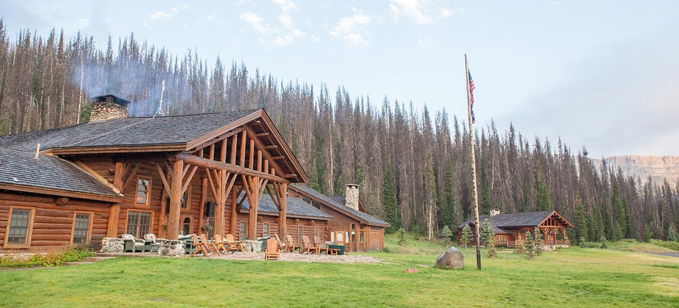 Lodge building - FAQs - Brooks Lake Lodge - Jackson Hole ranch
