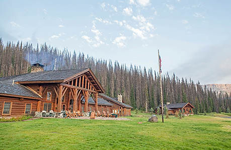 Lodge building -About Us - Brooks Lake Lodge - Top all inclusive resorts