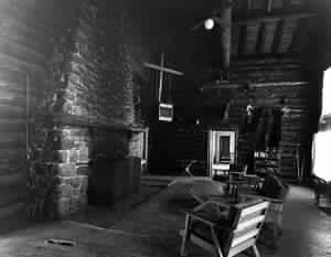historic_tea_room - Our History -  Brooks Lake Lodge - mountain getaways