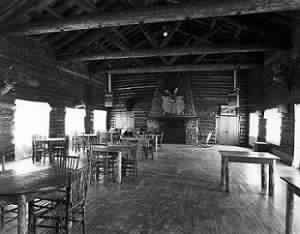 historic_dining - Our History -  Brooks Lake Lodge - mountain getaways