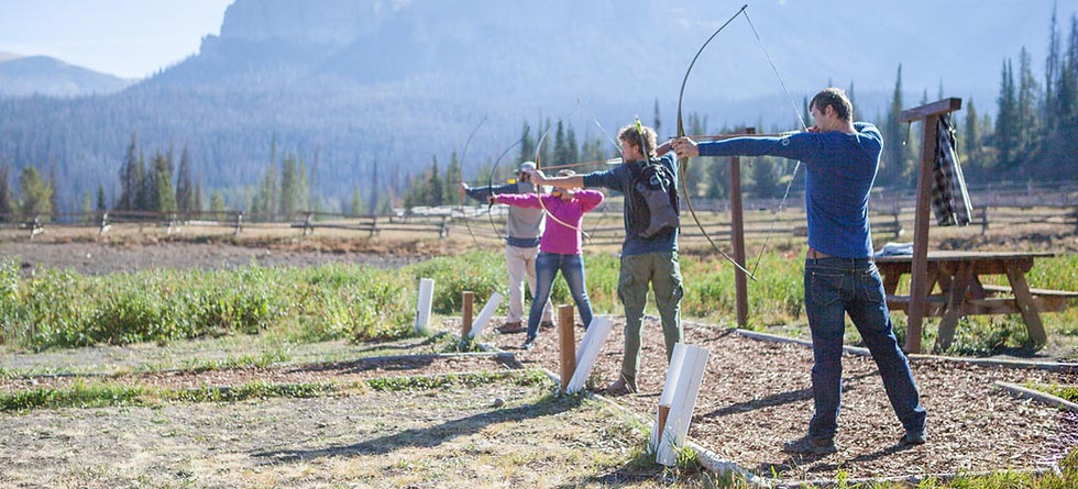 Archery - FAQs - Brooks Lake Lodge - Jackson Hole ranch