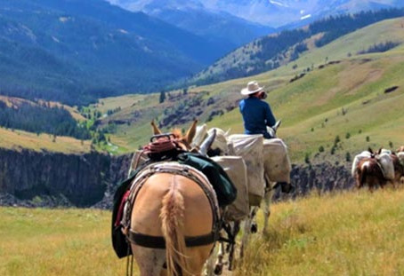 Brooks Lake Lodge Offers Summer Pack Trips with Best of the West Outfitters