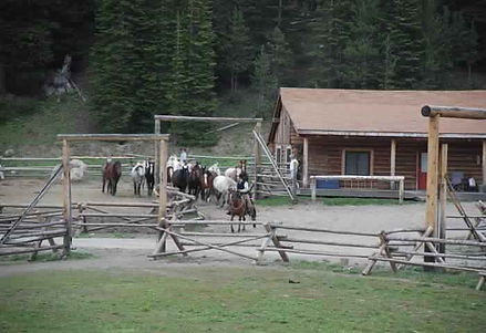 Corral-and-Pastures - Tour the Lodge - Brooks Lake Lodge - Yellowstone luxury hotels