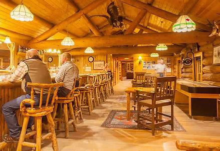 Cowboy Bar - Tour the Lodge - Brooks Lake Lodge - Yellowstone luxury hotels