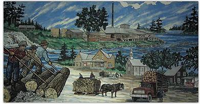 Otter Lake Mural