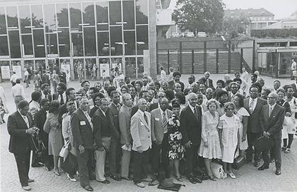 NAD Regional Dept Delegation at the 1975