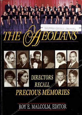 The Aeolians Directors Recall Precious M