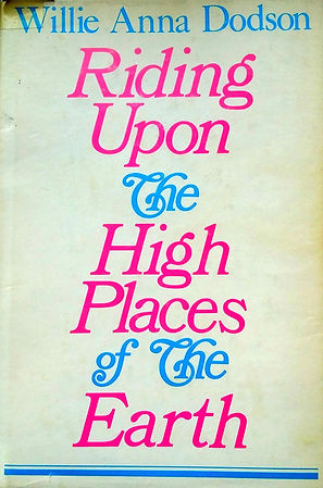 Cover - Riding Upon the High Places by W