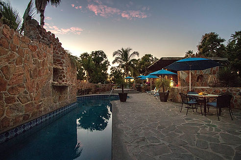 Casa Bentley Hotel 40' Pool with waterfall