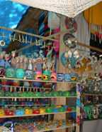 """Colorful shops abound in the """"magic village"""" of Todos Santos"""