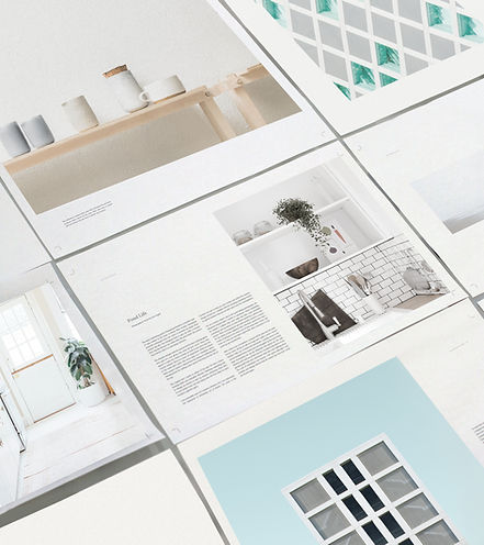 Page layout to represent design