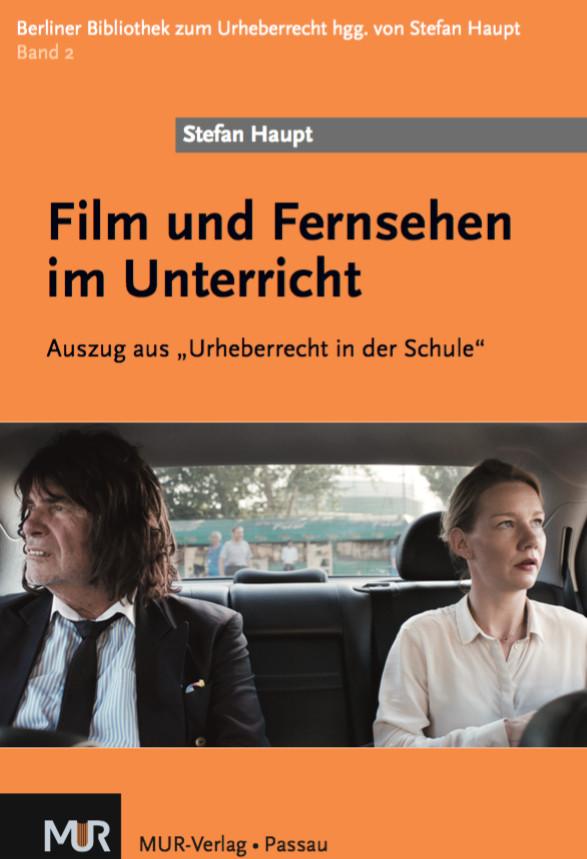 """Buchdeckel der Broschüre """"Film und Fernsehen im Unterricht"""""""