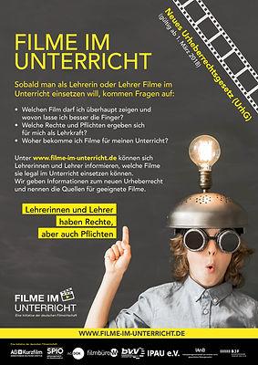 """Poster """"Filme-im-Unterricht"""""""