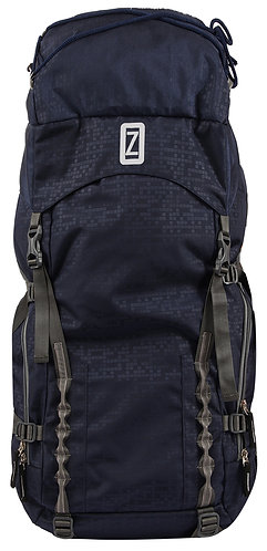 OZO  70 L Dark Blue & Grey Color Hiking Trekking Travel Backpack