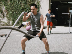 Or the battle ropes
