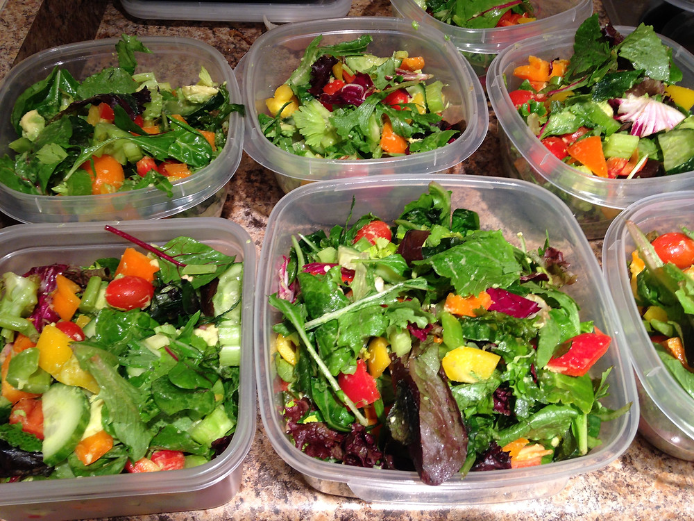 Healthy weight is easily achieved with meal prepping
