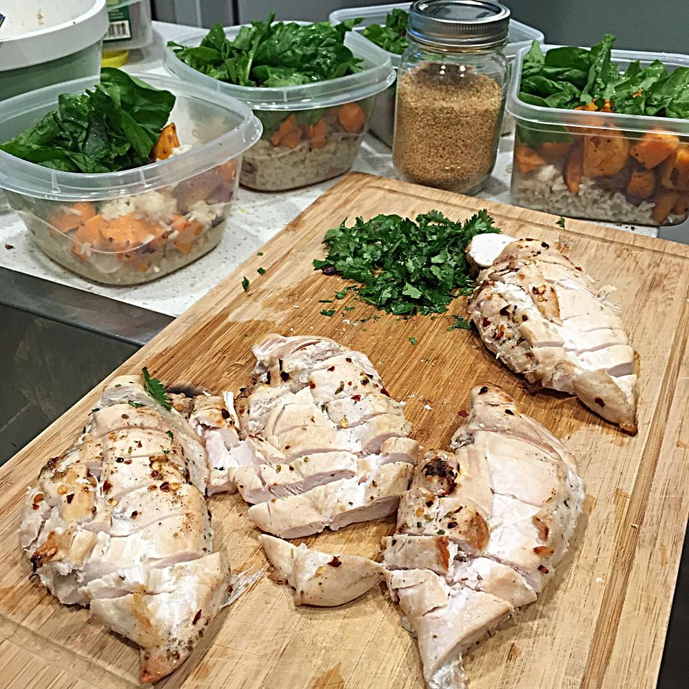Clem fitness meal prep