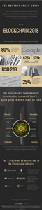 Infographic of the state of the Blockchain in 2018