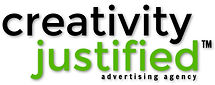 Extended Logo (White) for Creativity Jus