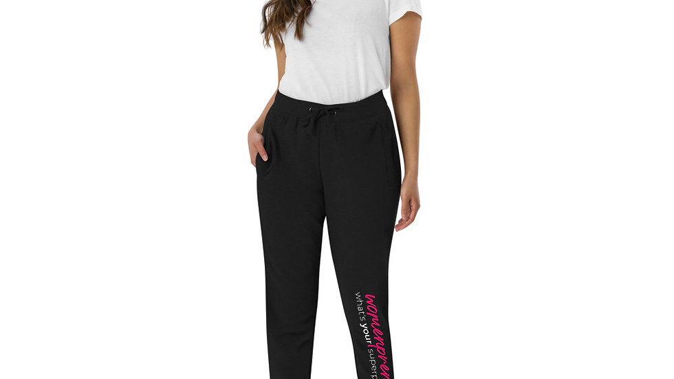 """""""What's Your Superpower"""" Unisex Skinny Joggers"""
