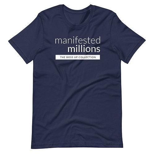 Manifested Millions T-Shirt (Light) Short-Sleeve Unisex T-Shirt