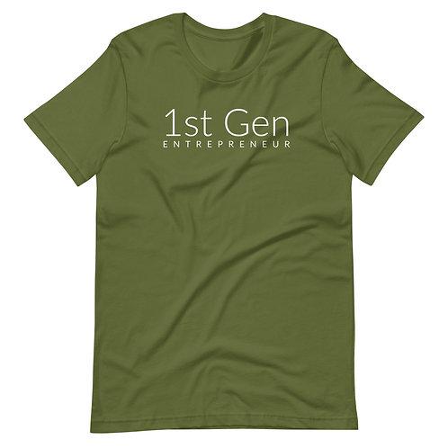 1st Gen Entrepreneur Short-Sleeve Unisex T-Shirt