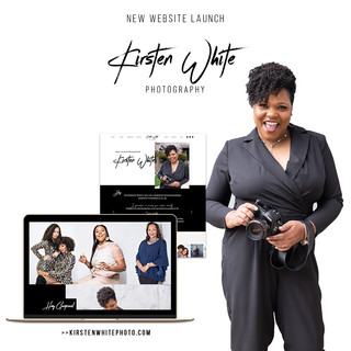 Kirsten White Photography Website Launch