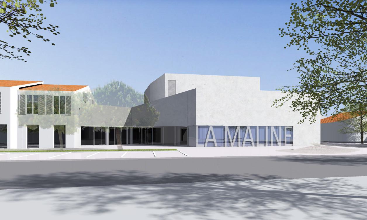 Projection La Maline