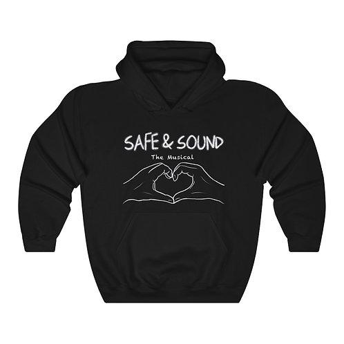 SAFE & SOUND (Unisex Heavy Blend™ Hooded Sweatshirt)