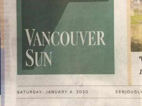 "Vancouver Sun on ""The Whale and The Raven"""