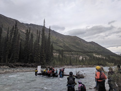 On-set of River of Life: Yukon