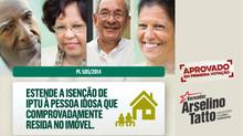 Isenção de IPTU para idosos