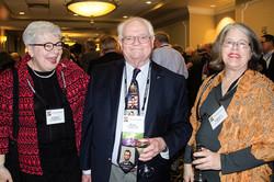 Carole Popchock, Buzz Carnahan & Virginia Cook