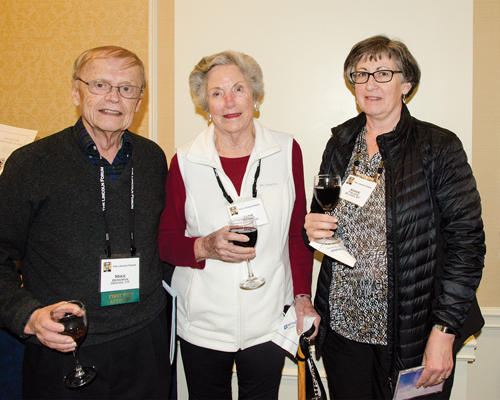 Mike Bergman, Jane Rogers & Annie Fischer